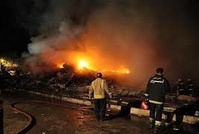 آتش سوزی شرکت بوتان مهار شد