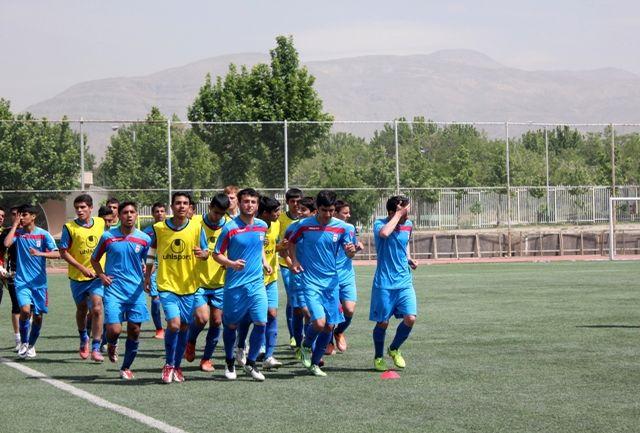 برگزاری تمرینات تیم ملی فوتبال نوجوانان در اصفهان