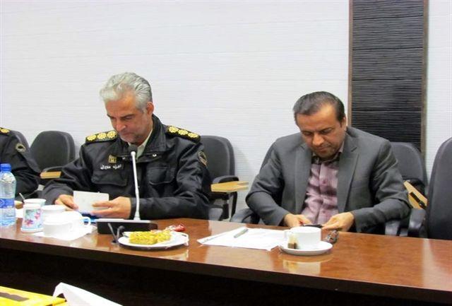 ابلاغ انتصاب فرمانده یگان حفاظت ادارهکل میراثفرهنگی یزد