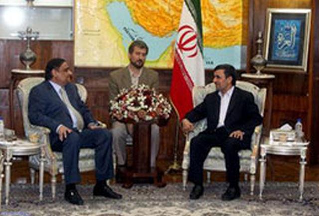 امیدوارم روزی ایران و پاکستان بخش اعظم نیازهای خود را توسط یکدیگر تامین کنند