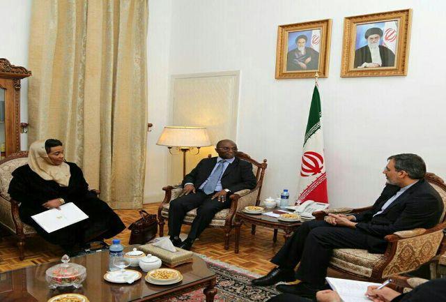 ایران آماده گسترش همکاری در حوزه های اقتصادی و تجاری با آفریقای جنوبی است