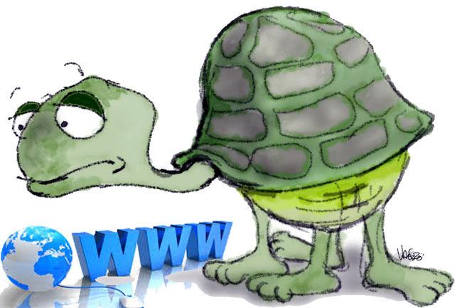 حرکت لاکپشتی اینترنت شرکت مخابرات در لرستان/ کسی پاسخگو نیست