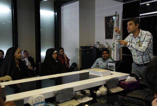 نخستین تور فیلمسازی با تلفن همراه در تهران برگزار شد