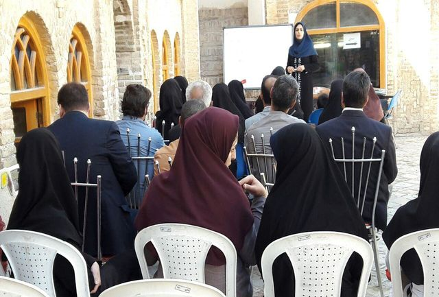 برگزاری کارگاه قصه گویی به مناسبت هفته میراث فرهنگی