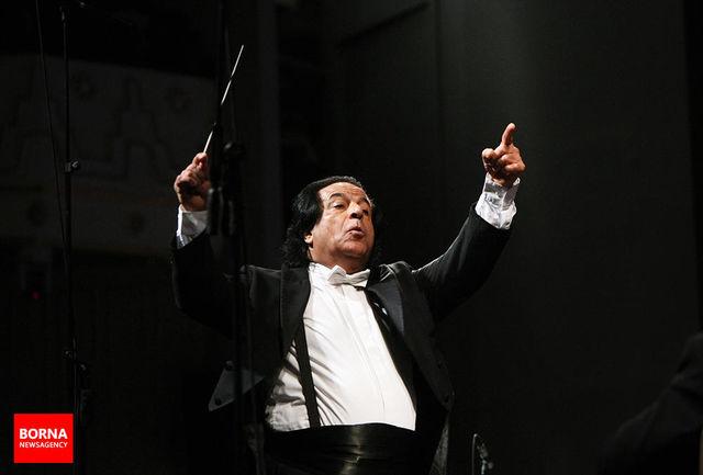 «علی رهبری» رهبر ارکستر بین المللی فیلارمونیک جهانی جوانان در نیویورک شد