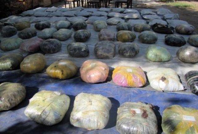 282 کیلوگرم مواد مخدر در یزد کشف شد