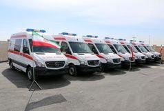 ۱۱ دستگاه آمبولانس جدید اورژانس ۱۱۵ قم رونمایی شد
