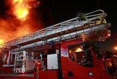 منزل مسکونی به علت نشت  گاز پیکنیک دچار حریق شد