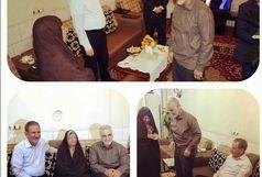 دیدار عیدانه سردار سلیمانی با والده جهانگیری