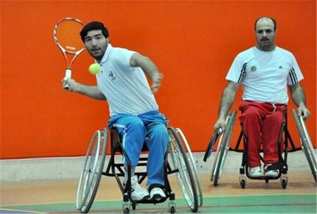 رقابتهای تنیس با ویلچر قهرمانی کشور در تبریز