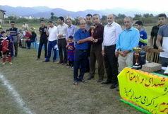برگزاری مسابقات فوتبال جام شهدای مدافع حرم در پره سر