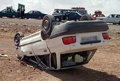 واژگونی پراید یک کشته و یک مجروح برجای گذاشت