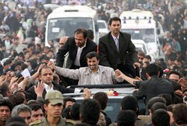 تقدیر البرزیها از رییسجمهور با استقبالی پر شکوه