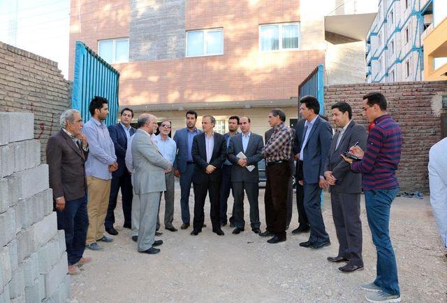 بازدید استاندارکرمان از روند عملیات احداث مدرسه بقیه الله