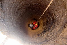 سقوط در چاه جان کارگر جوان را گرفت
