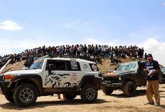 درخشش اتومبیلران اصفهانی در مسابقات بین المللی آفرود قزوین