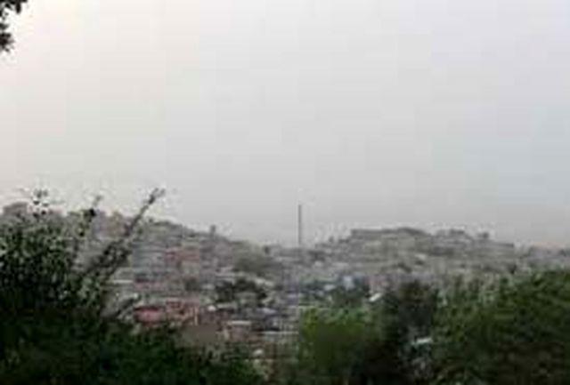 دید افقی در کرمانشاه به کمتر از 4 کیلومتر رسید