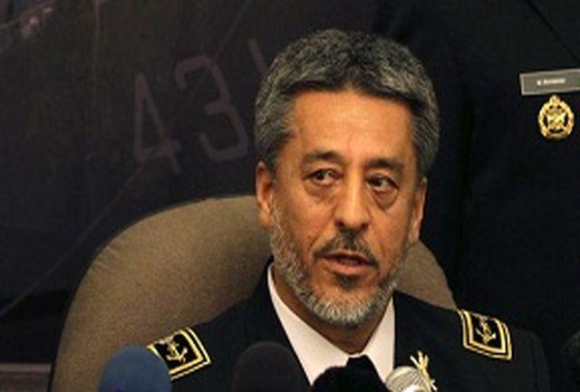 فرمانده نیروی دریایی ارتش ایران از پایگاه دریایی شانگهای بازدید کرد