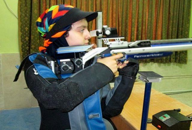 آرمینا صادقیان تفنگدار سرابله ای عازم آلمان می شود