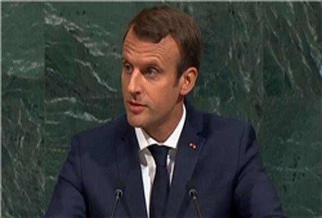 واکنش هم زمان رئیسجمهور فرانسه به اظهارات ضدایرانی ترامپ