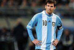 آرژانتین با مسی از شیلی عبور کرد
