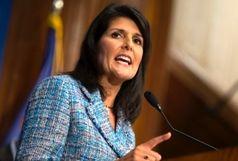 انتقاد نیکی هیلی از شعار «مرگ بر آمریکا»/ نمیخواهم وزیر امور خارجه آمریکا شوم