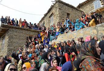جشن نوروز در روستای شیان سنندج
