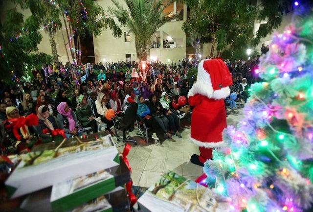 بابا نوئل به جزیره کیش آمد