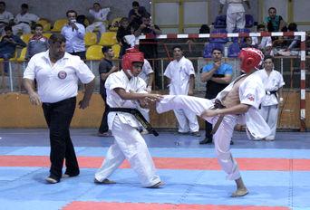 مسابقات شین کاراته قهرمانی کشور در همدان