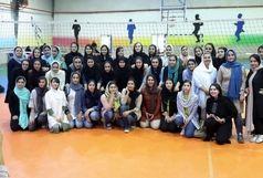 تیم  موج قهرمان جام رمضان والیبال « بانوان »شد