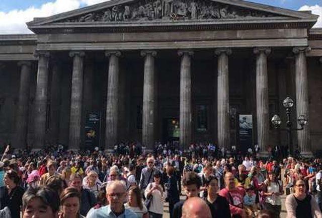 انفجار در میدان راسل لندن