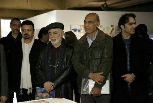 تجلیل از استاد تجویدی در نهمین جشنواره بین المللی تجسمی