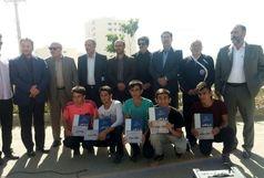 مسابقه دو میدانی دانش آموزان پردیس برگزار شد