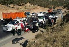 فوت 5 نفر در تصادف بین  جاده ای در لرستان - مرکزی