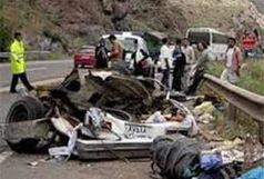 چهار فوتی و یک مصدوم در دو تصادف رانندگی