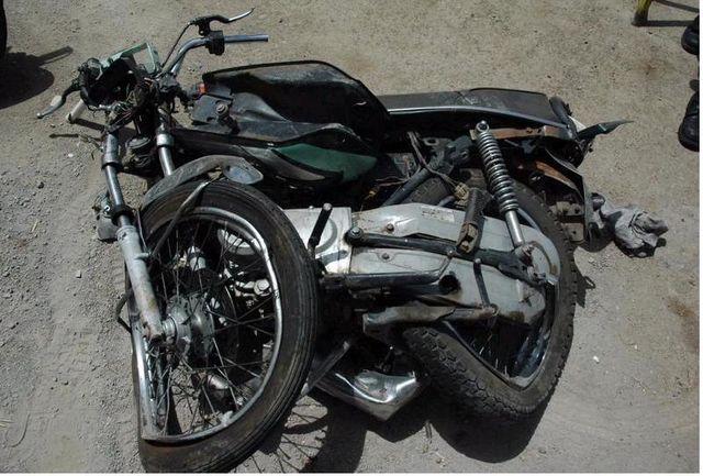 برخورد دو موتور سیکلت، دو کشته به همراه داشت