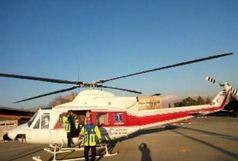 اورژانس هوایی در جاده کرج- چالوس مستقر شد