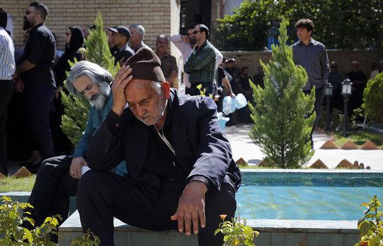 مراسم تشییع حبیب الله کاسه ساز