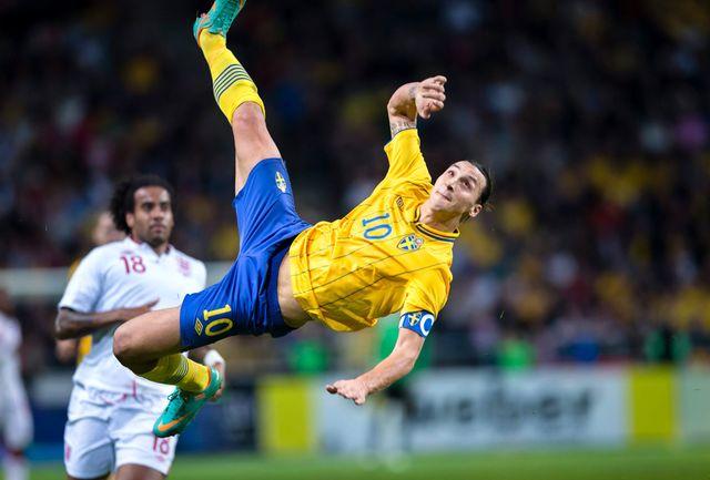 زلاتان برای دهمین سال توپ طلای فوتبال سوئد را فتح کرد