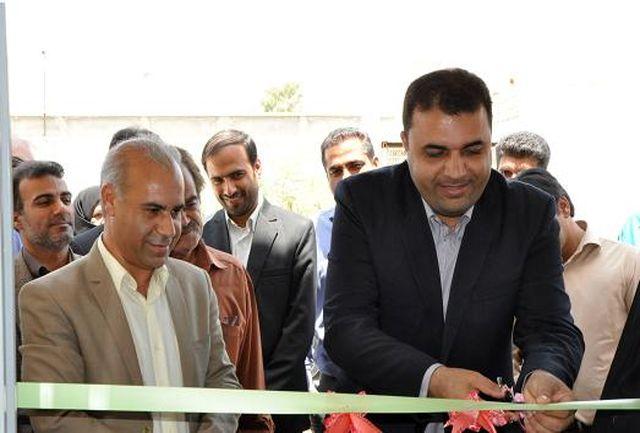 ساختمان اتاق اصناف واتحادیه های صنفی شهرستان حاجی آباد افتتاح گردید