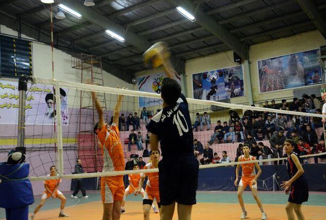 اعلام نتایج سومین روز لیگ دسته یک والیبال نوجوانان