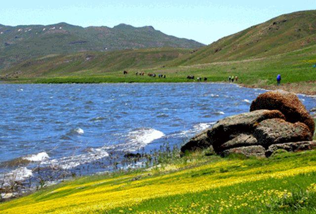 آغازعملیات احیای دریاچه «نئور» در اردبیل