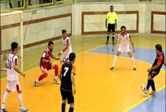 تیم فوتسال حفاری برابر صدرنشین لیگ برتر فوتسال کشور به تساوی رسید