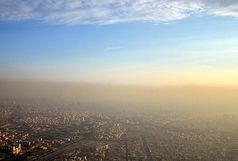 کیفیت هوای تهران در آستانه ورود به وضعیت ناسالم