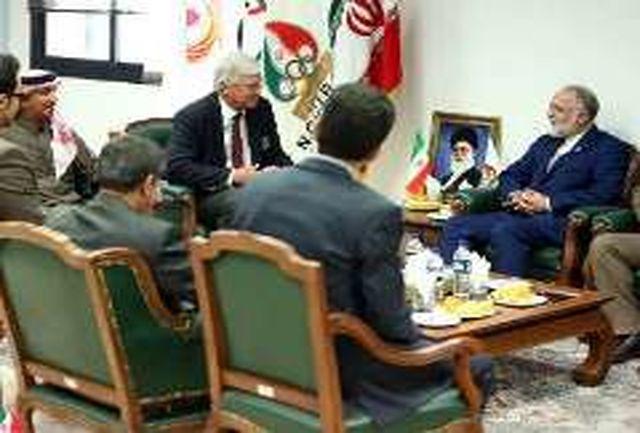 تاکید نمایندگان ایران و قطر بر توسعه گلف