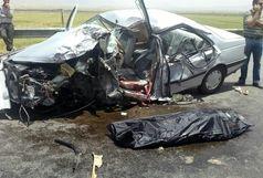 4 کشته و 4 زخمی در تصادف پرشیا و وانت