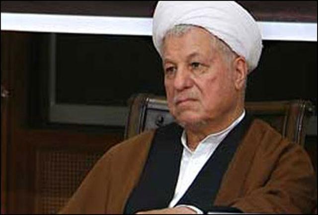 پیام تسلیت آیت الله هاشمی به مناسبت درگذشت دکتر آیینه وند