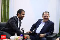بازدید نماینده اقلیم کردستان عراق از غرفه برنا/ ببینید