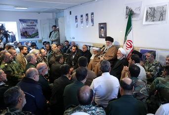 جلسه رسیدگی به مشکلات زلزلهزدگان استان کرمانشاه با حضور رهبر انقلاب