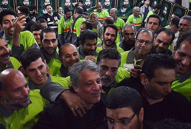 واکنش عجیب پرسنل شهرداری تهران در عراق به حضور محسن هاشمی